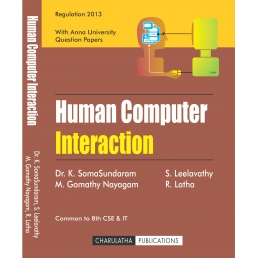 HUMAN COMPUTER INTERACTION (ISBN-13:978-81-933409-6-7)